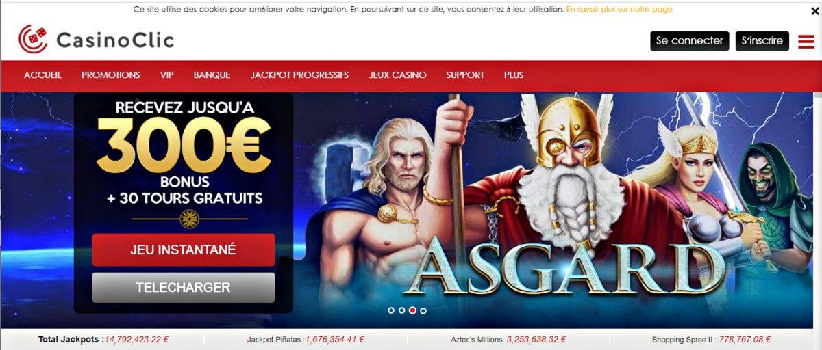 avis casino clic