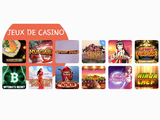 avis banzai slots casino