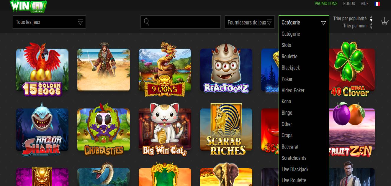 casino reel en ligne