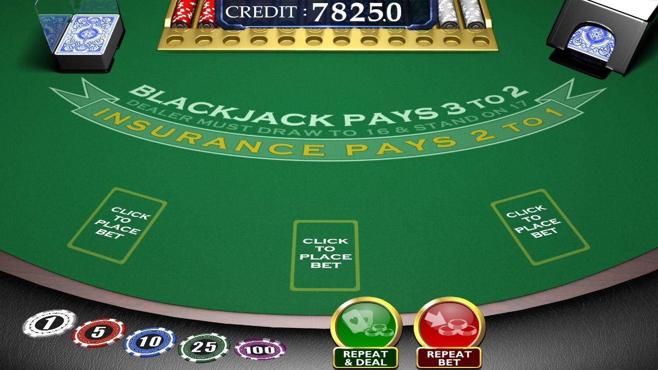 Blackjack argent réel en ligne :