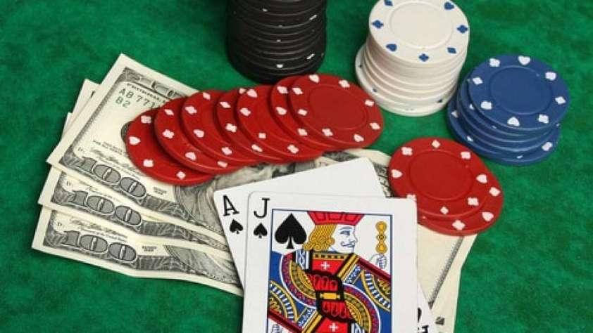 blackjack argent reel ligne